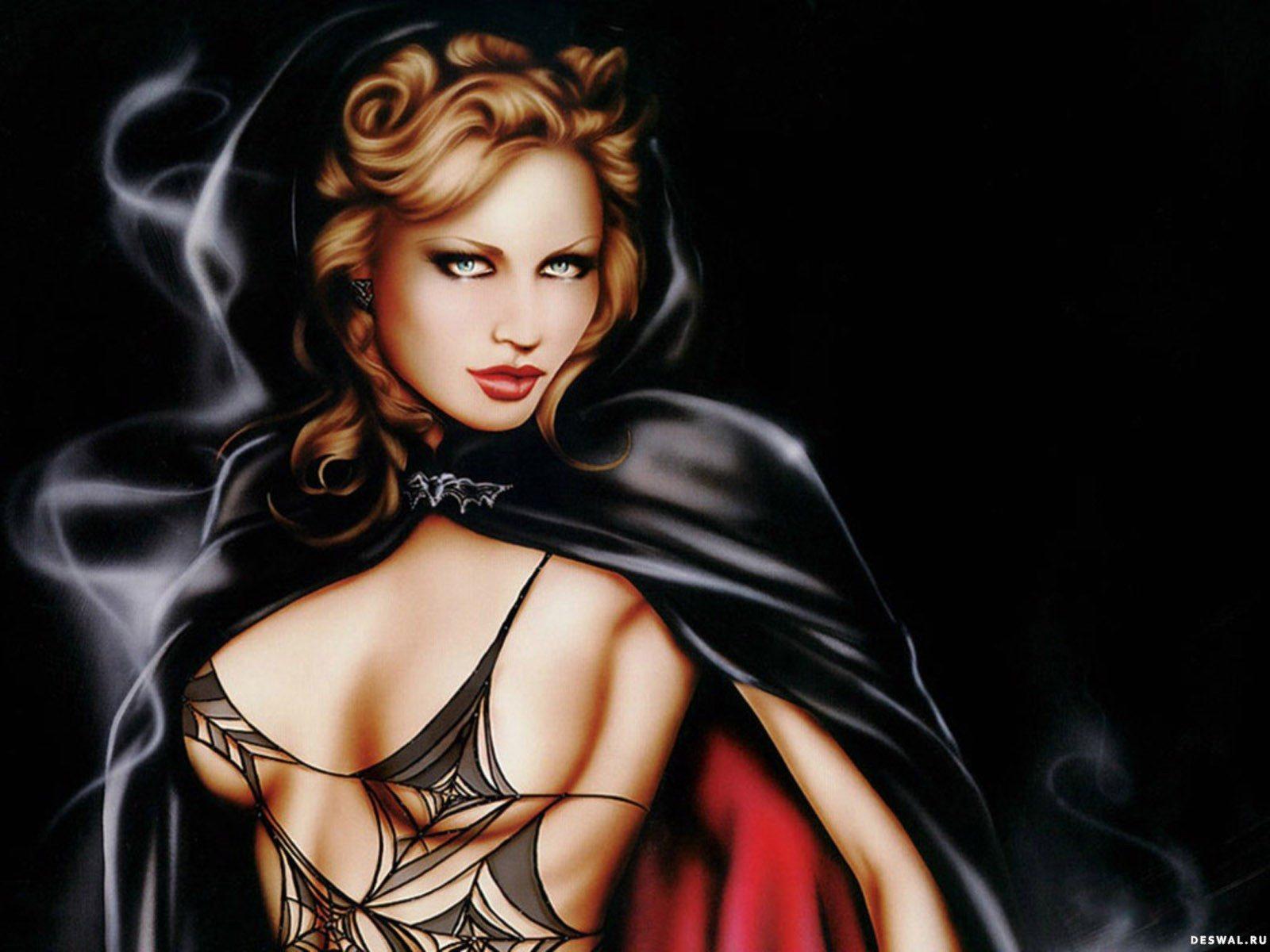 Фото красавицы вампирши 24 фотография