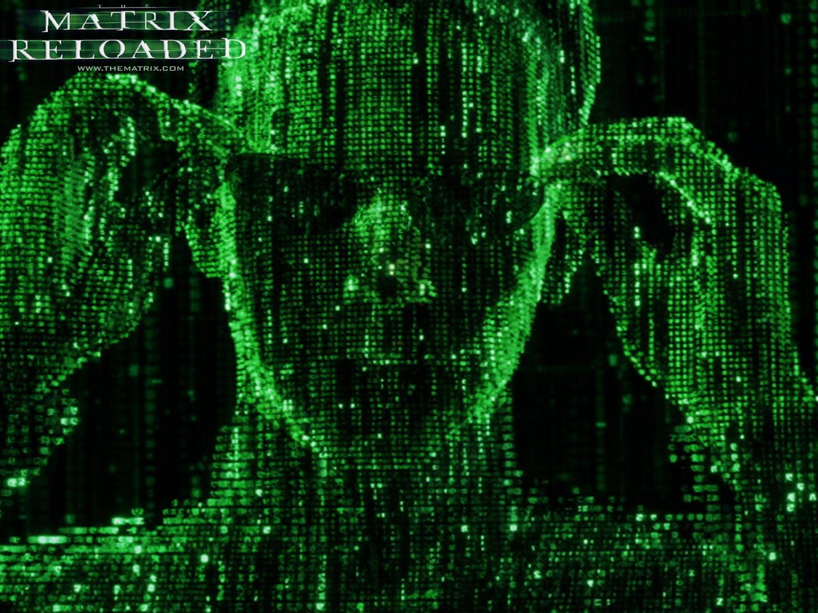 Матрица, зеленый код
