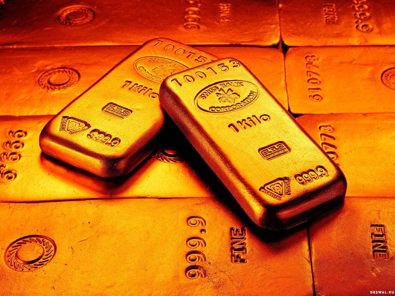 1 кг в слитках из золота