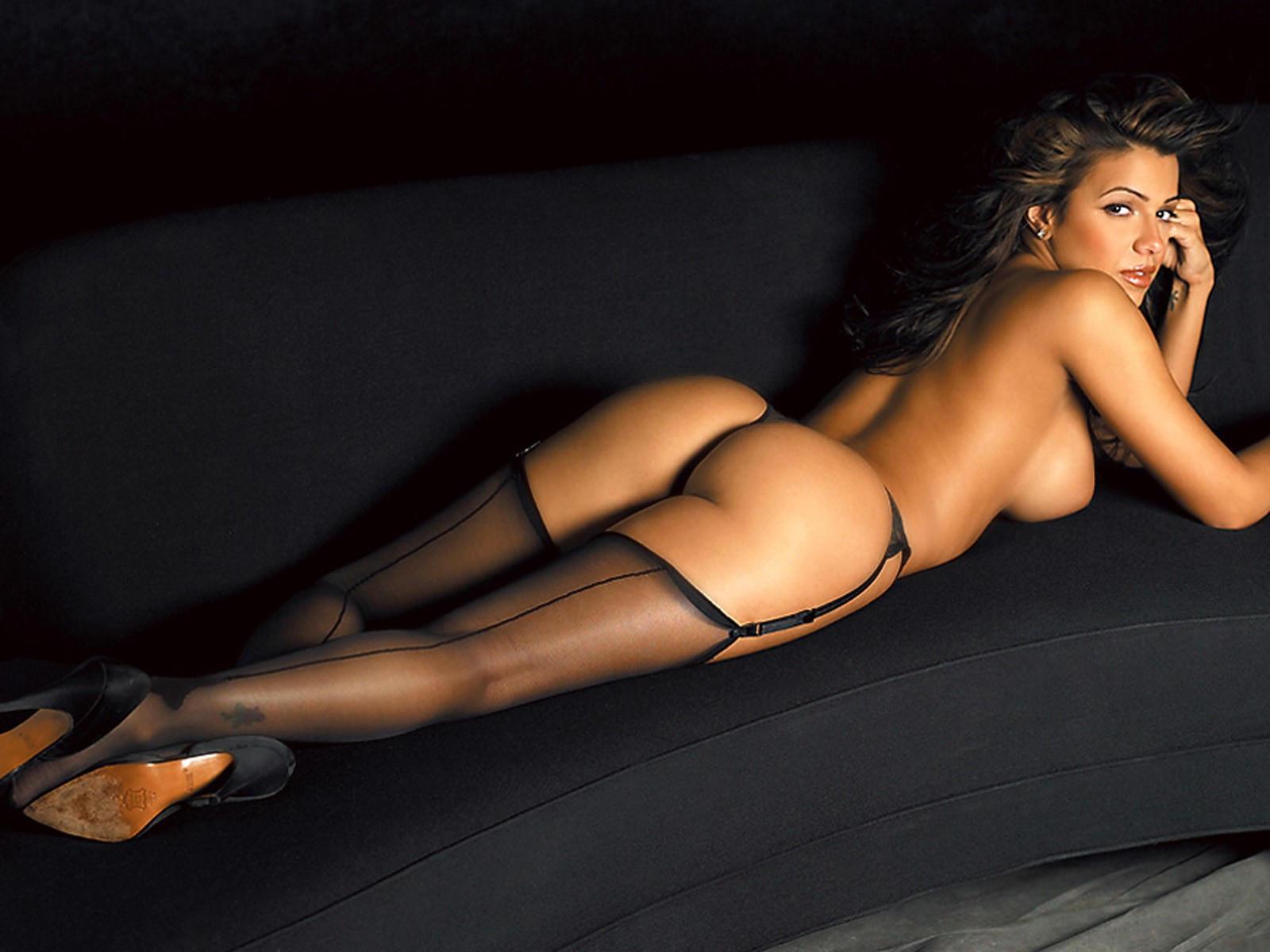 Шикарный секс с красивыми в чулках 17 фотография