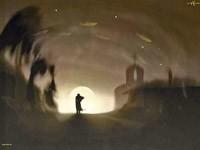 Человек и свет в конце пути