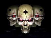 Три черепа с дыркой