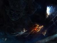 Восточные демоны и темные миры