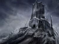Мрачный замок на горе