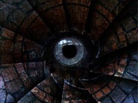 Винтовая лестница - глаз