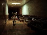Медсестра в коридоре Сайлент Хилл