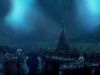Огромный сказочный готический мир