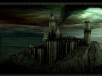 Темный дымящийся замок