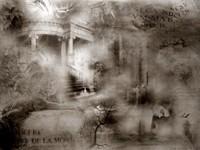 Темный сказочный мир в тумане