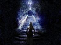 По лестнице ведущей  вверх