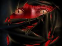 Страшные змеиные глаза