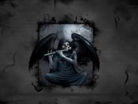 Темный ангел играет на флейте