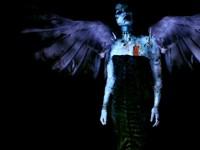Готичная дева с крыльями