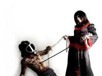 Строгая госпожа с рабом