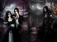 Тёмный арт - вампиры