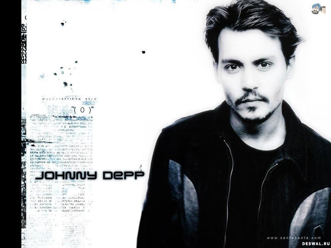 Джонни Депп (Johnny Depp) - Мужчины. Обои для рабочего стола.