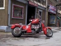 Мотоцикл Boss_Hoss на классной картинке.. Обои мотоцикла Boss Hoss