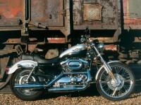 Изображение мотоцикла Harley-Davidson на обои.. Обои мотоцикла Harley-Davidson