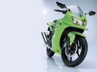 Фотообои мото Кавасаки.. Обои мотоцикла Kawasaki