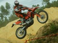 Мотоцикл KTM на отличной фотообои. Обои мотоцикла KTM