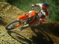 KTM на качественной картинке. Обои мотоцикла KTM