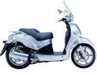 Мотоцикл Кимко на прекрасной фотографии. Обои мотоцикла Kymco
