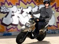 Изображение мотоцикла МБК на фотообои. Обои мотоцикла MBK