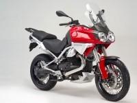Мотоцикл Moto-Guzzi на хорошей фотообои. Обои мотоцикла Moto-Guzzi