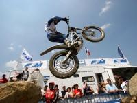 Мотоцикл Шерко на фотообои. Обои мотоцикла Sherco