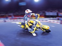 Мото Suzuki на великолепной фотообои. Обои мотоцикла Suzuki