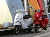 Фотообои мотоцикла Vespa. Обои мотоцикла Vespa