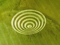 Фото 1.. Обои с природой для рабочего стола: обои с кругами на полях
