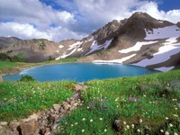 Фото 3.. Обои с природой для рабочего стола: озеро