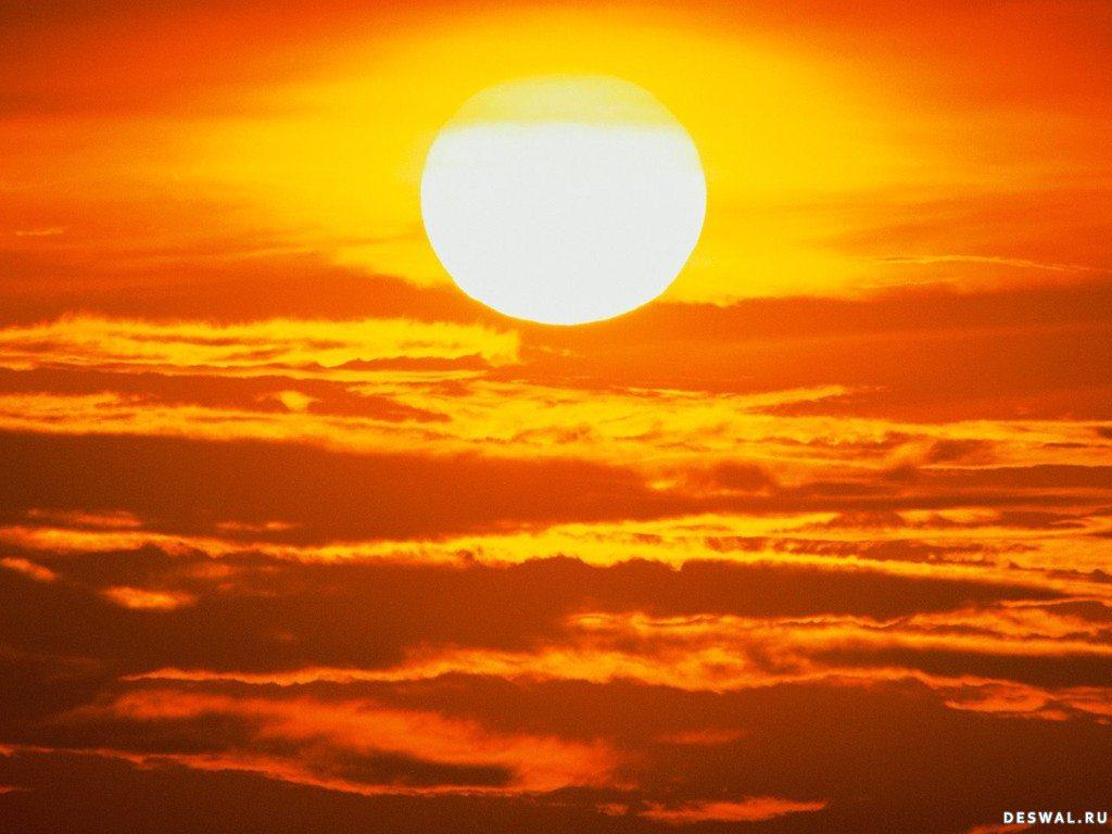 фотообои солнце: