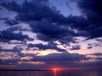Фото 1.. Обои с природой для рабочего стола: закат солнца