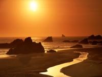 Фото 9.. Обои с природой для рабочего стола: закат солнца