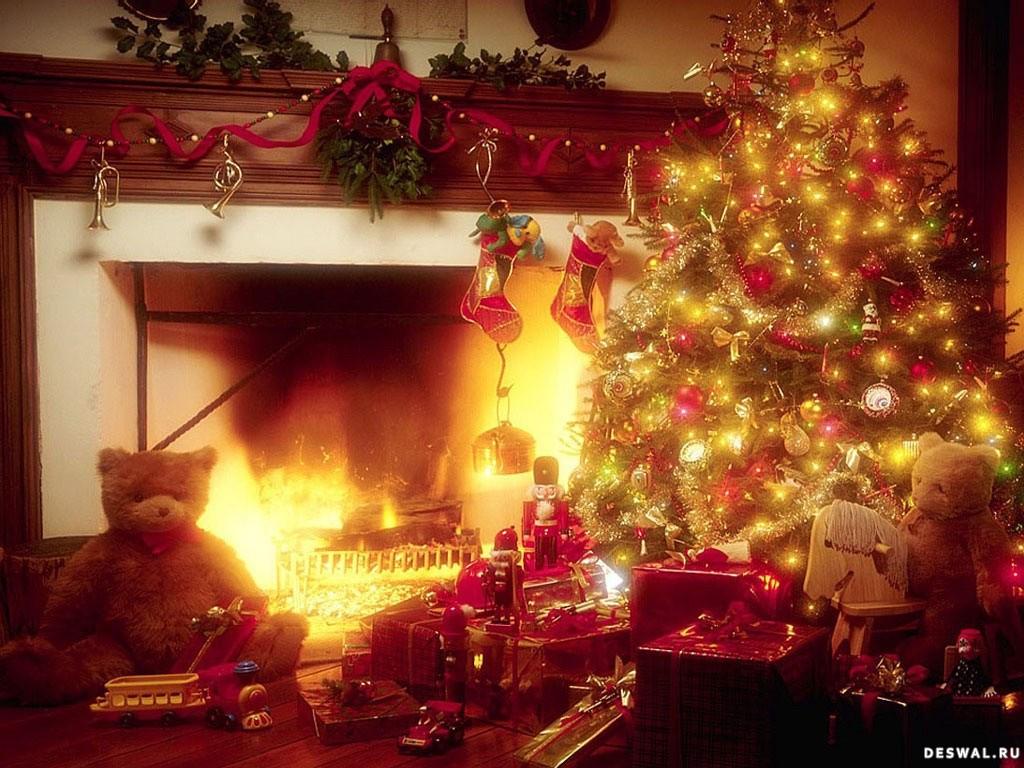 Обои: Елка у камина: качественные новогодние обои для ...: http://deswal.ru/php_newyear/1024-768/00000409.php
