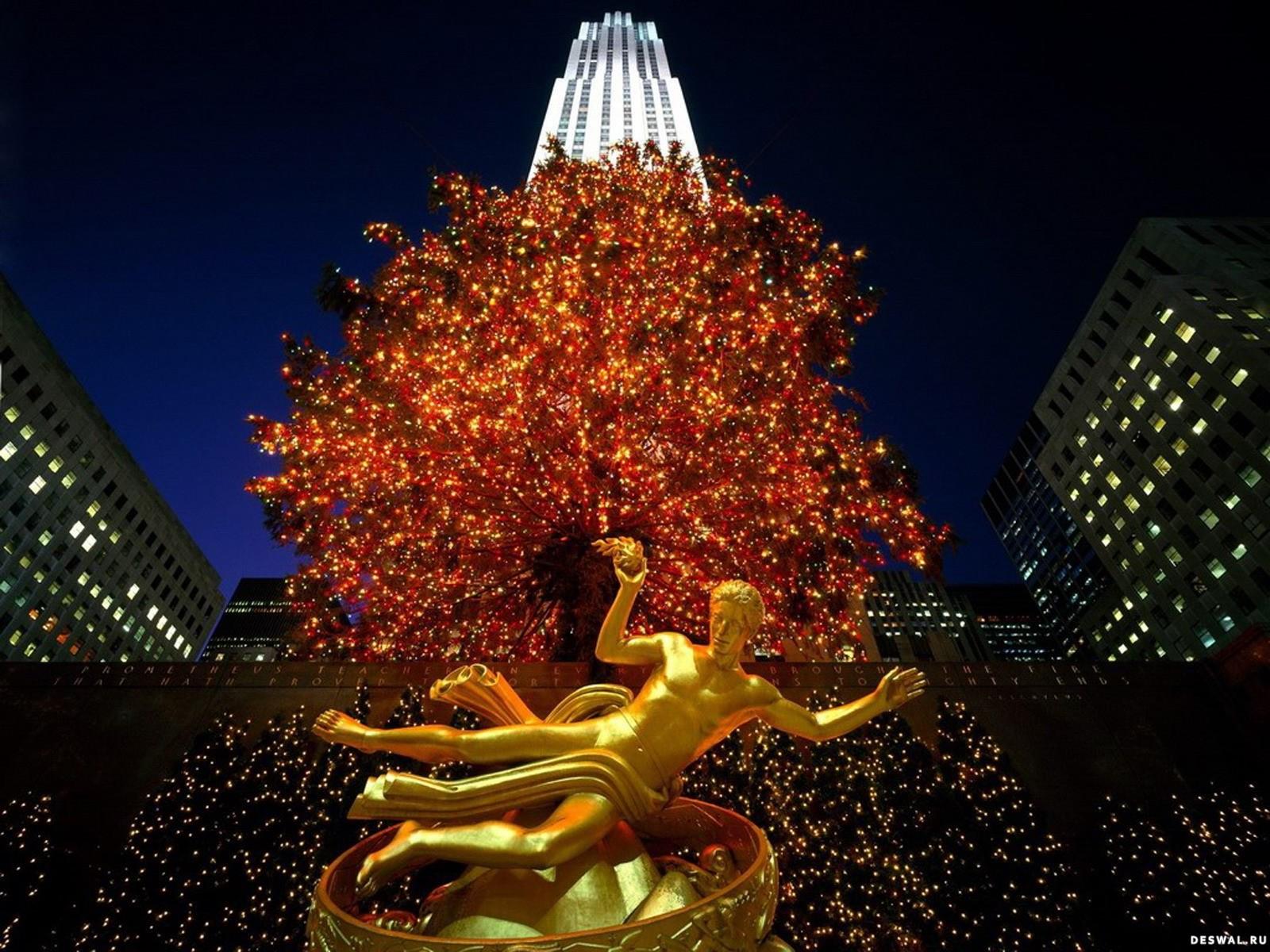 Нью Йорк Новый Год Обои