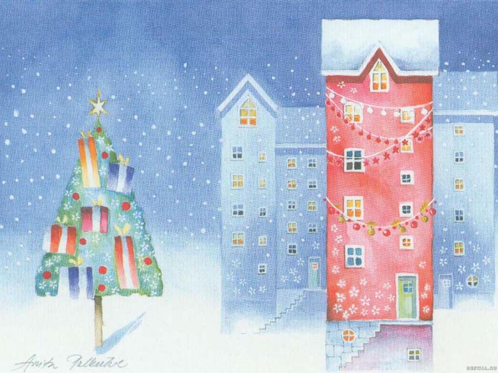 Рисунки моя мечта на новый год