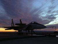 Боевой истребитель F-15 Eagle