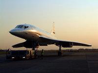 Самолёт Concorde на площадке