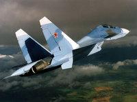 Самолёт Су-30М2, истребитель Су-30 в небе