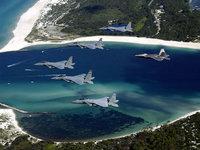 Военная авиация над заливом