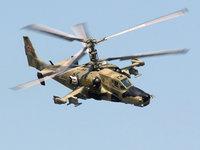 Черная Акула Ка-50, российский боевой вертолет