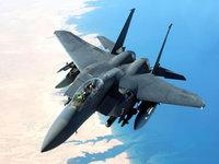 Военный истребитель F-15