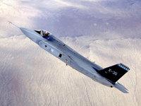 Самолёт Airforce X 35c стремится в стратосферу