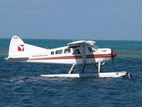 DHC-2 Beaver лёгкий гидросамолёт на воде