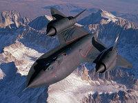 Lockheed SR 71 самый быстрый самолёт