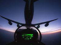 В кабине самолёта
