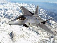 Суперсовременный истребитель F-22 Раптор
